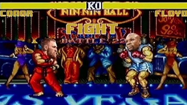 Hadouken! Após confirmação da luta, McGregor x Mayweather ganha versão no 'Street Fighter'