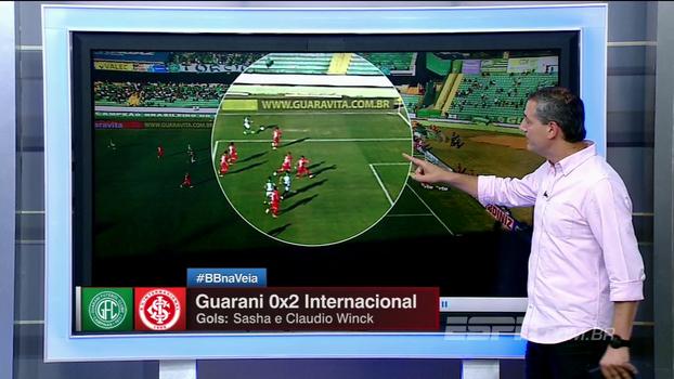 Pênalti para o Guarani? Sálvio nega: 'A bola bate no pé, não no braço'
