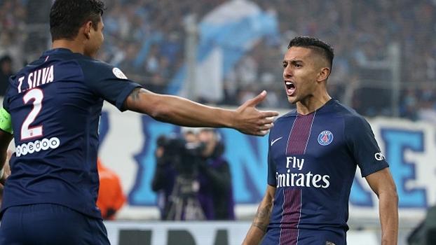 Francês: Melhores momentos de Olympique de Marselha 1 x 5 Paris Saint-Germain