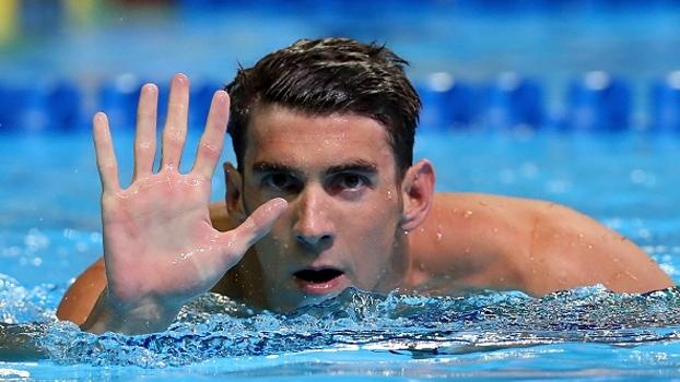 Após conquistar quinta vaga olímpica, Phelps se emociona: 'É a razão pela qual eu voltei'