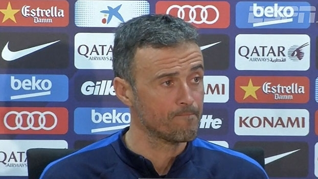 Após folgas, Luis Enrique elogia forma dos jogadores e projeta duelo com o Athletic