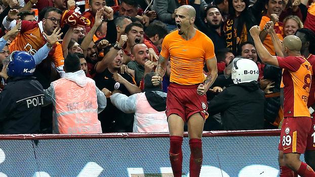 Veja os gols de Maicon na vitória do Galatasaray pelo Campeonato Turco