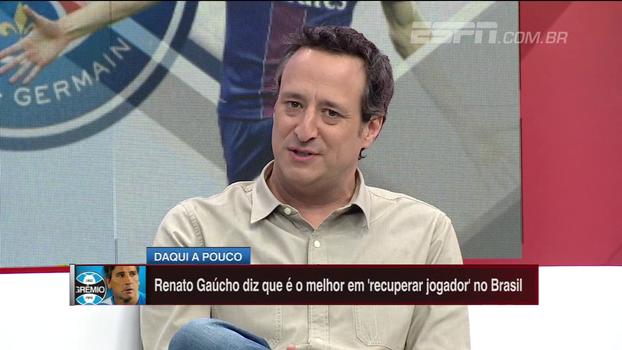 Gian Oddi comenta situação de Lucas no PSG: 'Vai ter que se conformar com o papel secundário'
