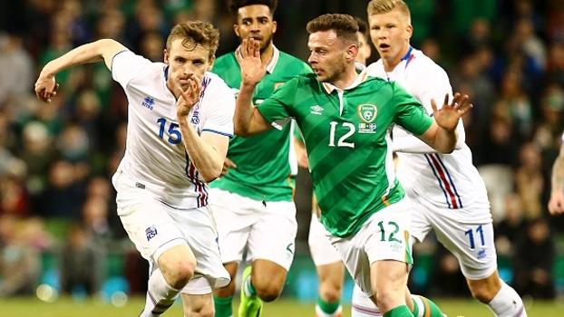 Com gol de falta, Islândia vence Irlanda em Dublin