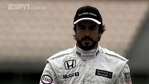 De volta, Fernando Alonso nega ter acordado em 1995 após acidente em Barcelona