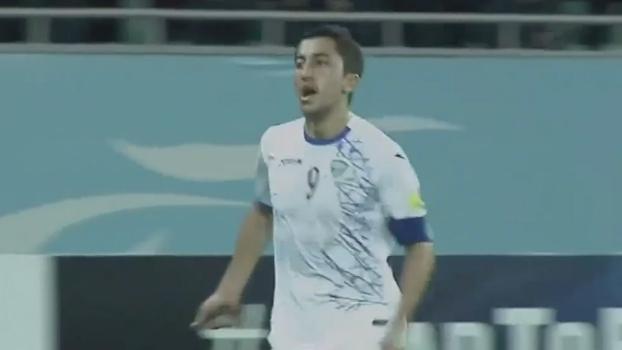 Veja o gol da vitória do Uzbequistão sobre o Catar por 1 a 0 pelas Eliminatórias Asiáticas