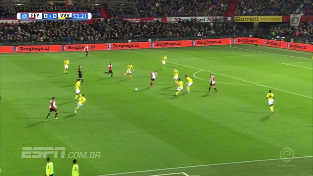 Feyenoord abre o placar, mas Venlo arranca empate com pintura de primeira