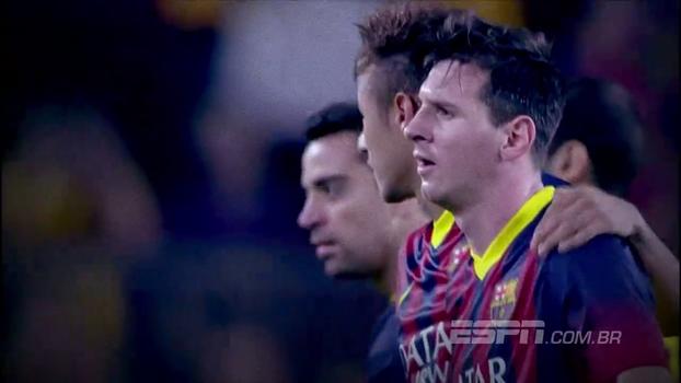 9 dias para Real x Barça: Relembre a marcante estreia de Neymar no grande clássico