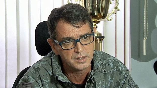Comandante do Choque garante que protestos podem continuar e revela pedido da FPF para retirar faixas