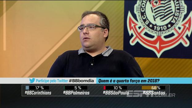 Zé Elias, Arreguy e Vessoni: Santos é a 4º força paulista em 2018