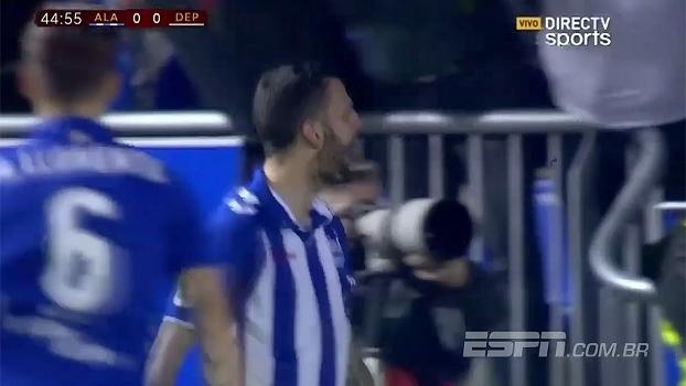 Alavés empata com La Coruña e se garante nas quartas de final da Copa do Rei