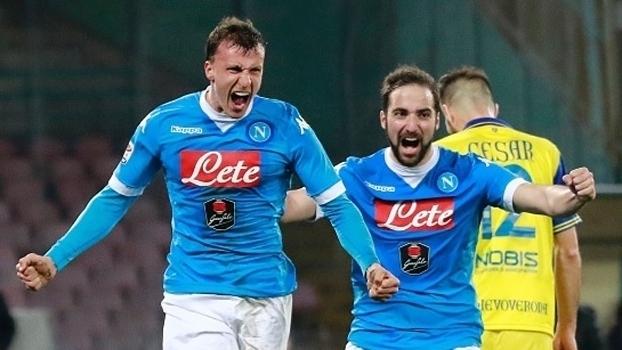 Resultado de imagem para Napoli x Chievo