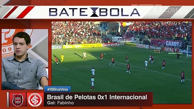 Rafa Oliveira aprova partida do Internacional e vê vitória aliviando 'clima pesado'