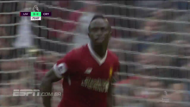 Premier League: Gol de Liverpool 1 x 0 Crystal Palace