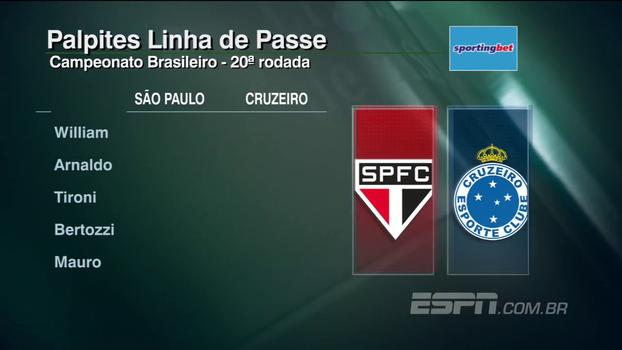 Confira os palpites do 'Linha de Passe' para a 20ª rodada do Campeonato Brasileiro