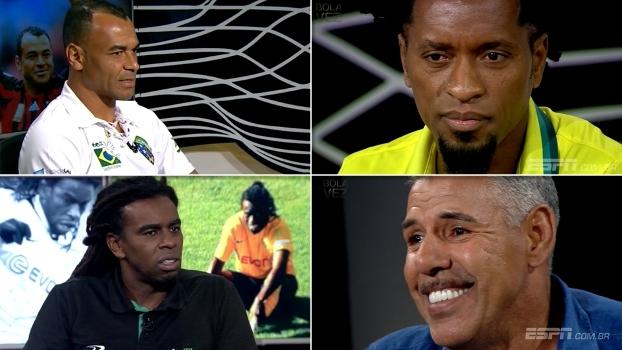 Bola da Vez Especial: Toninho Cerezo, Zé Roberto, Tinga e Cafú se comovem com influência da família