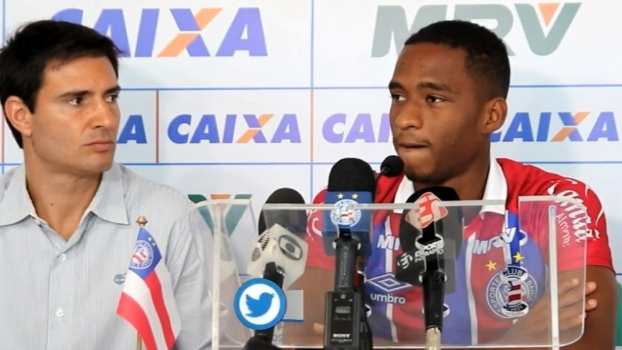 Matheus Sales explica por que escolheu ir para o Bahia e diz: 'Vamos surpreender muita gente'