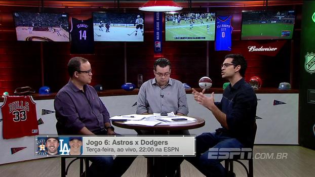 ESPN League analisa o espetacular Jogo 5 entre Astros e Dodgers: 'Nunca vamos esquecer', diz Antunes