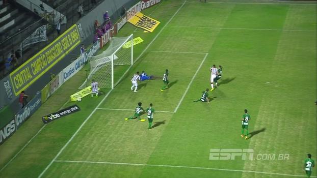 Assista aos gols da vitória do Náutico sobre o Guarani por 2 a 0!