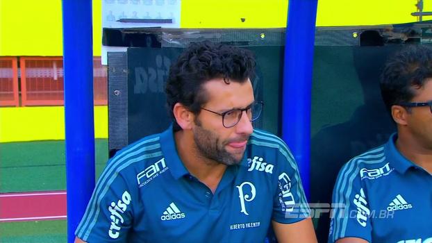 Alberto Valentim no comando e Keno titular: veja como Palmeiras venceu o lanterna Atlético-GO