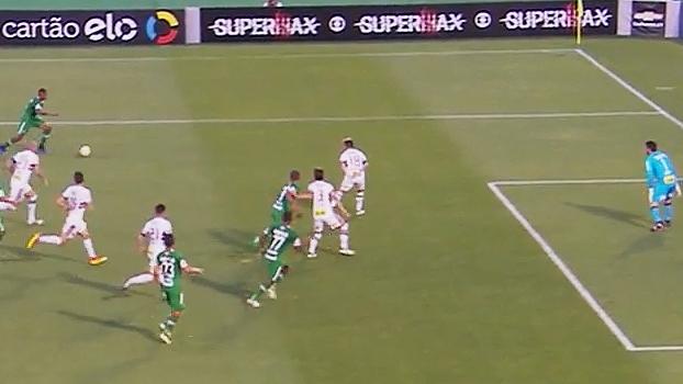 Brasileiro: Gols de Chapecoense 2 x 0 São Paulo