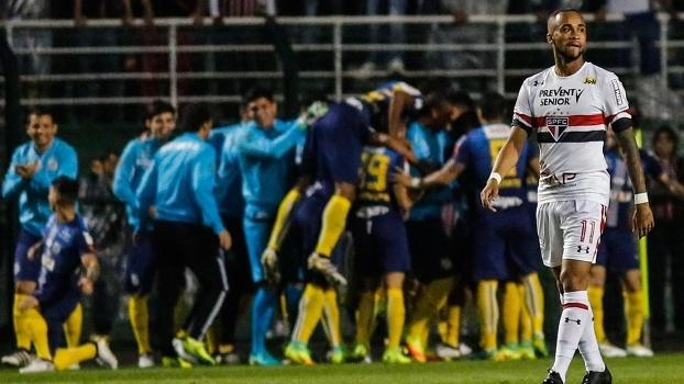 Brasileiro: Gol de São Paulo 1 x 0 Santos
