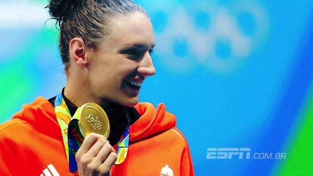 Você sabia? Katinka Hosszu conquistou sua primeira medalha olímpica no Brasil