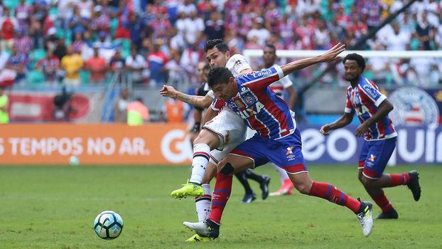 Brasileiro: Gols de Bahia 2 x 1 São Paulo