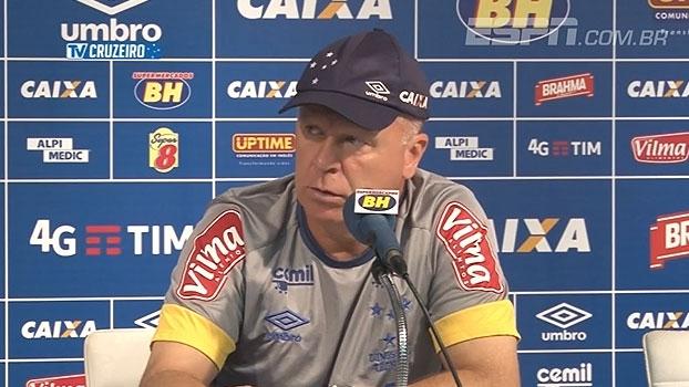 Mano Menezes: 'Cruzeiro não vai à Porto Alegre rebaixar ninguém'