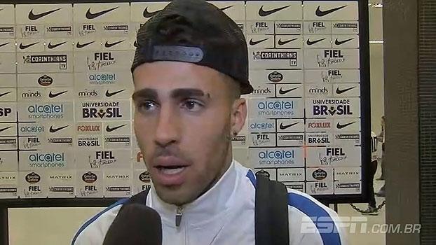 Gabriel comemora vitória, mas lamenta vermelho: 'Primeira expulsão na minha carreira'