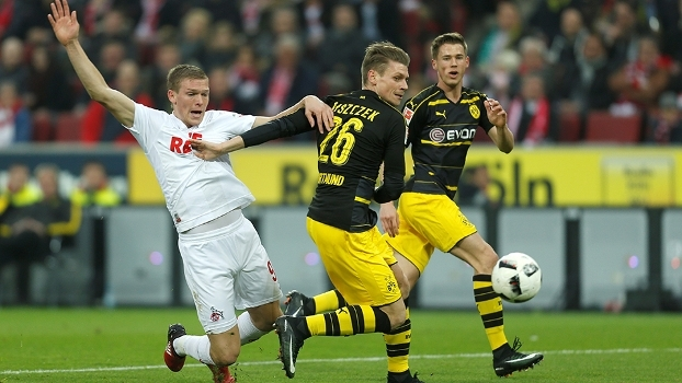 Bundesliga: Gols de Colônia 1 x 1 Borussia Dortmund