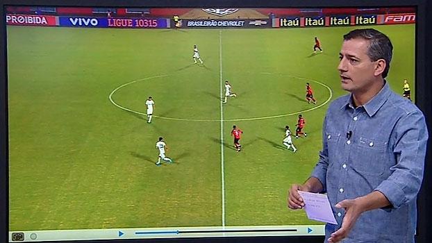 Salvio analisa 'bola na mão' de Marinho em gol do Vitória: 'Não tem domínio'