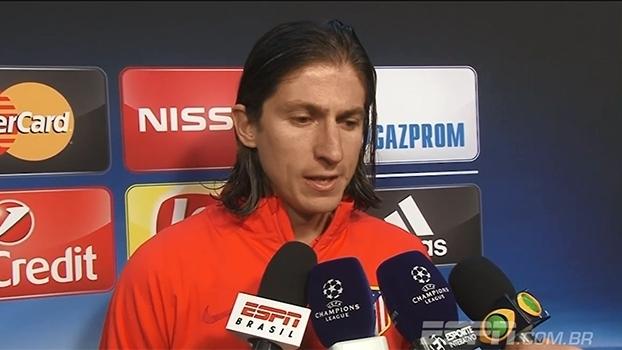 Filipe Luís vê Atlético de Madri superior e diz que eliminar o Barça 'levanta o ânimo do time'