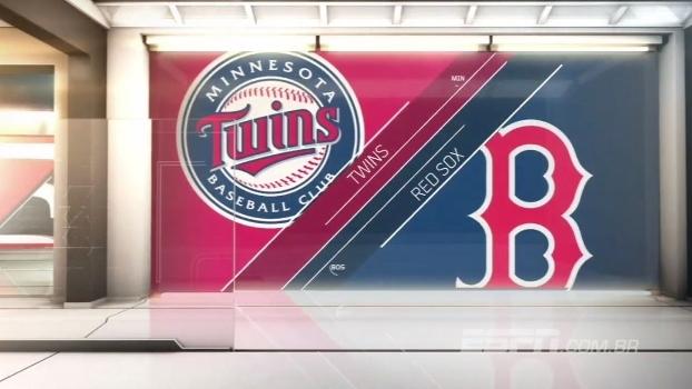 Boston Red Sox 'atropela' o Minnesota Twins e segue na liderança da divisão Leste