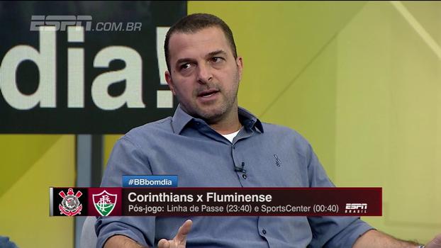 Para Zé Elias, jogadores do Corinthians irão chamar responsabilidade: 'Vão querer matar logo a partida'