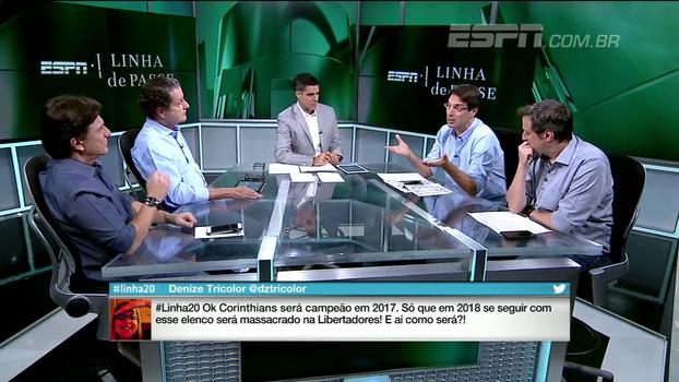 Para Arnaldo, Palmeiras tinha tudo para disputar o Brasileiro de igual para igual com o Corinthians