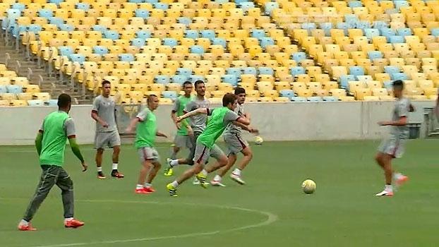 De volta ao Maracanã, Fluminense treina para se 'readaptar' a sua casa