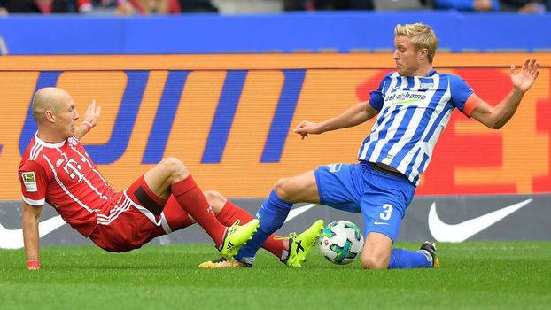 Bundesliga: gols de Hertha Berlin 2 x 2 Bayern de Munique