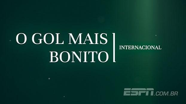 Linha de Passe: Veja os gols internacionais mais bonitos da semana