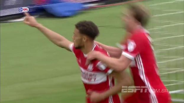 Championship: Gol de Middlesbrough 1 x 0 Sheffield United