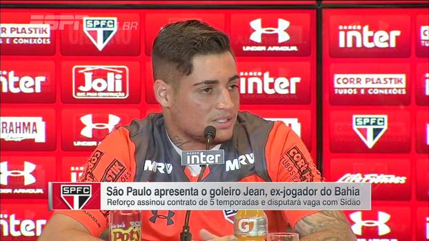 Apresentado no São Paulo, Jean enumera goleiros que admira