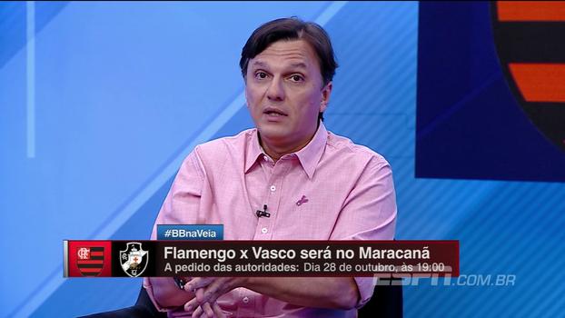 Após mudança de clássico para o Maracanã, Mauro questiona diretoria do Fla: 'Por que não entra na justiça?'