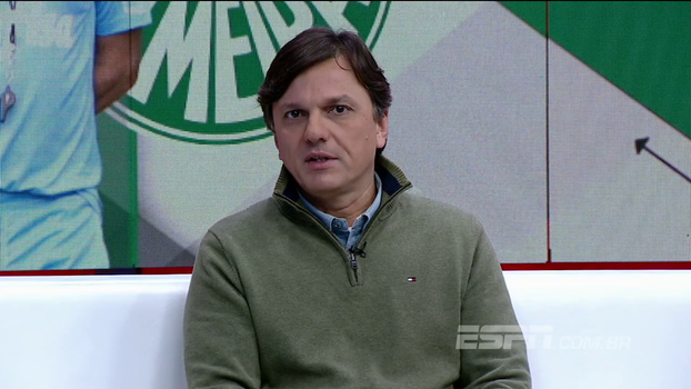 Mauro fala sobre situação do Palmeiras: 'Maior responsabilidade é do técnico, depois diretoria, e por último os jogadores'