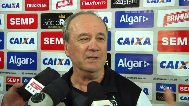 Levir aprova 'jogo diferente' entre Atlético-MG e Santos: 'Merecia um 4 a 3'
