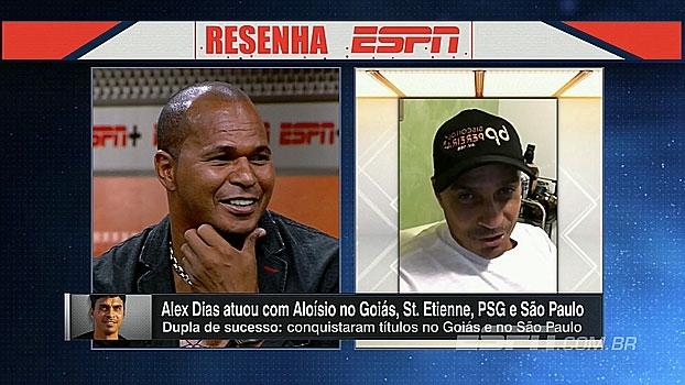 Alex Dias manda recado para Chulapa e relembra 'relaxamento' após perder de goleada na França