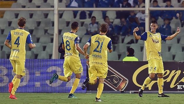 Assista aos gols da vitória do Chievo sobre o Pescara por 2 a 0