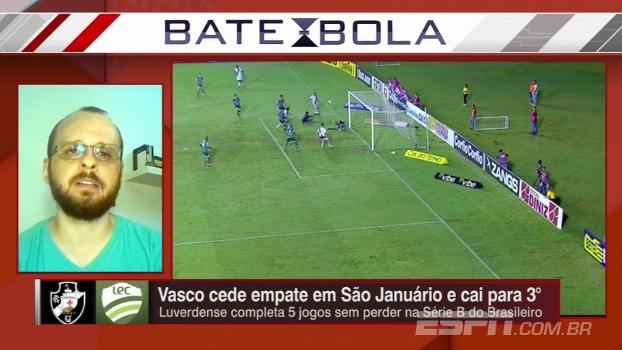 De acordo com Bruno Guedes, Jorginho fica até o fim da Série B e sai do Vasco em 2017