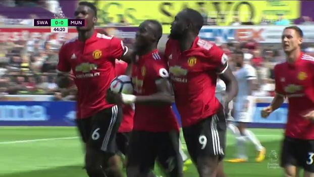 Premier League: Melhores momentos de Swansea 0 x 4 Manchester United