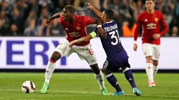 Assista aos gols do empate entre Anderlecht e Manchester United por 1 a 1