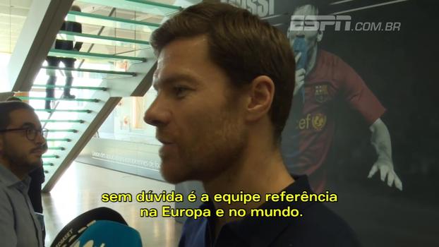 Xabi Alonso diz que Real Madrid é hoje o 'time referência': 'Tem pinta que pode durar mais quatro anos'